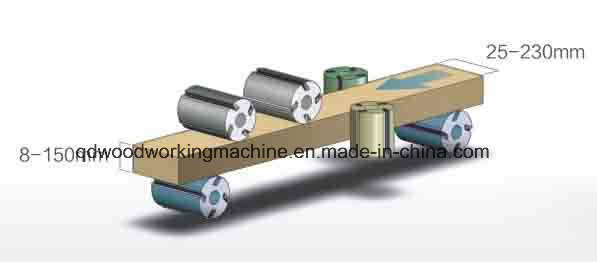 Four Side Moulder Planer for Woodworking