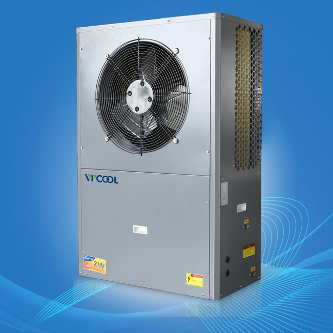 Cold Climate Air to Water Heat Pump with Evi System