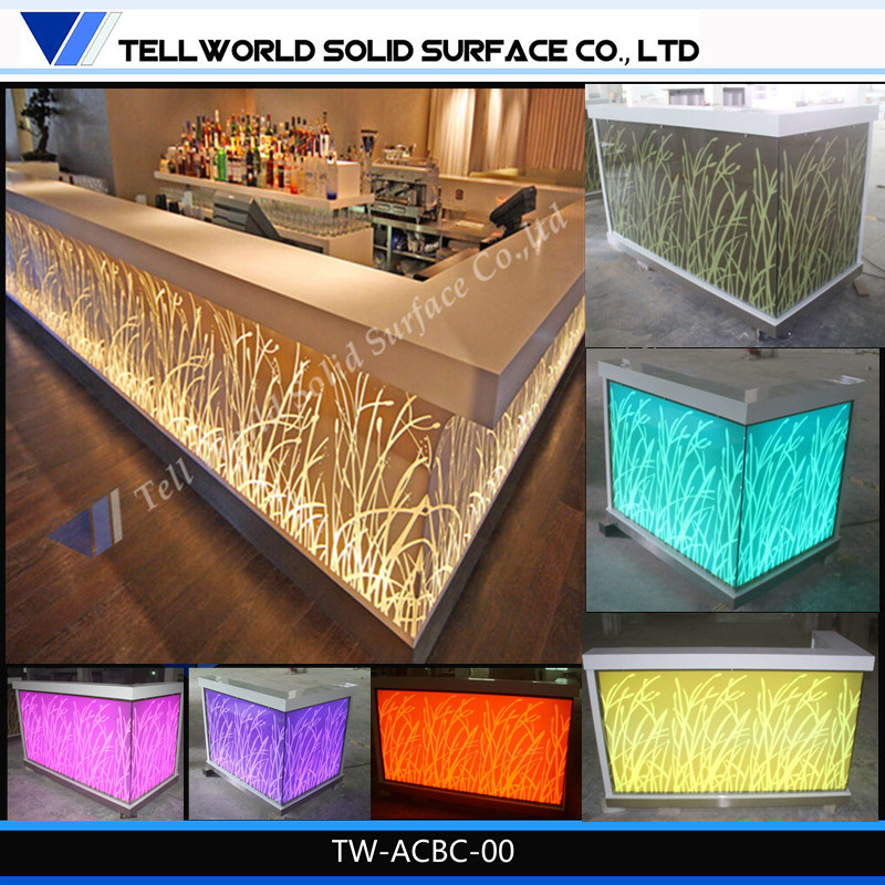 China 180 kinds design of artificial marble western for Bar counter designs small space