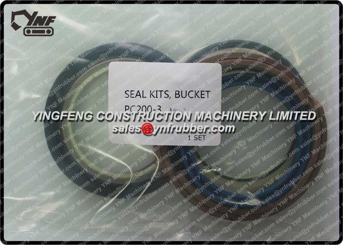 Komatsu Excavator Spare Parts PC400-6 Main Hydraulic Piston Pump 708-2h-00191 Oil Seal Kit 708-27-22811