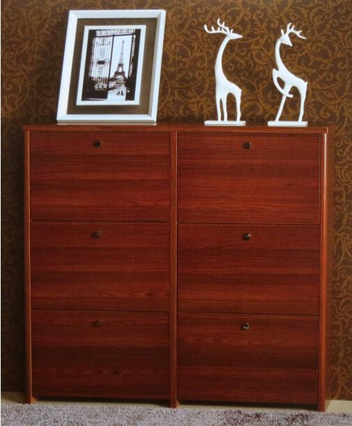 Teak Wooden Shoe Cabinet