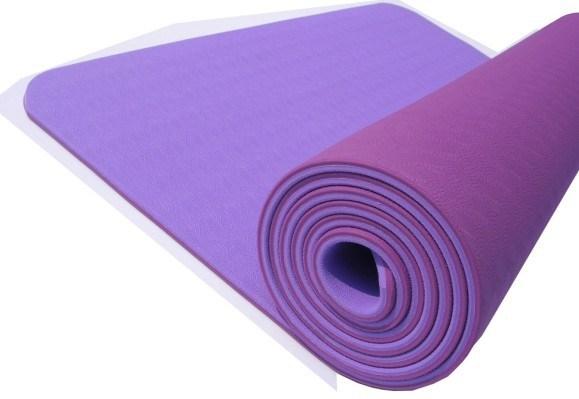 TPE Yoga Mat, Rubber Yoga Mat