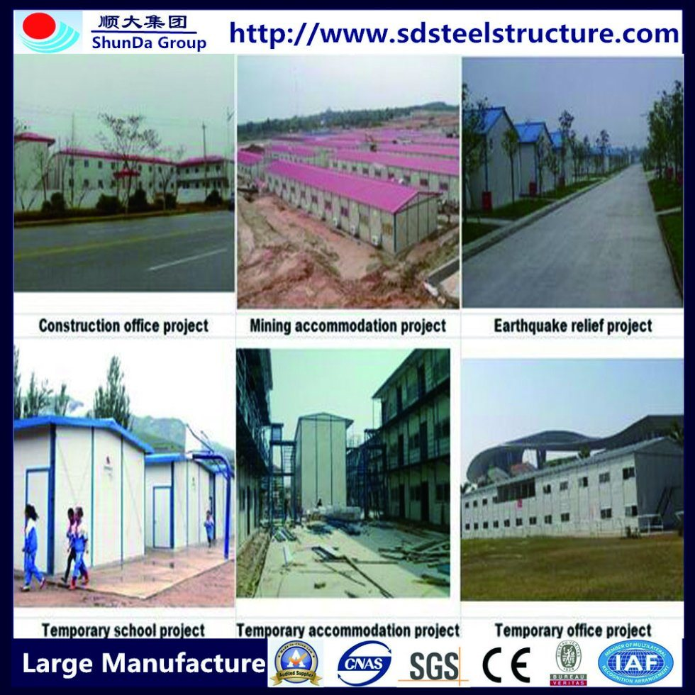 Hot Sales Steel Space Frame Portable Building