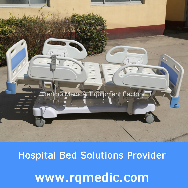 (CE, ISO, Denmark Linak Motor) Five-Function Electric Hospital Bed/Medical Bed