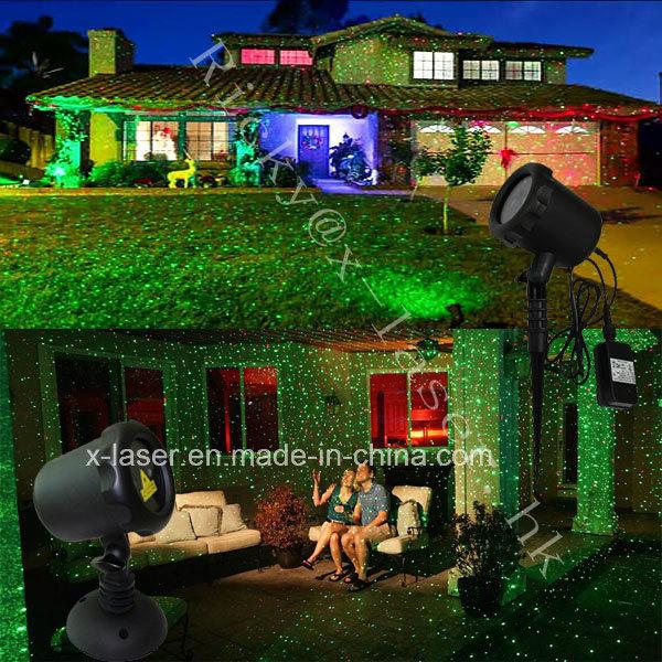 Red Green Waterproof Outdoor Christmas Laser Lights