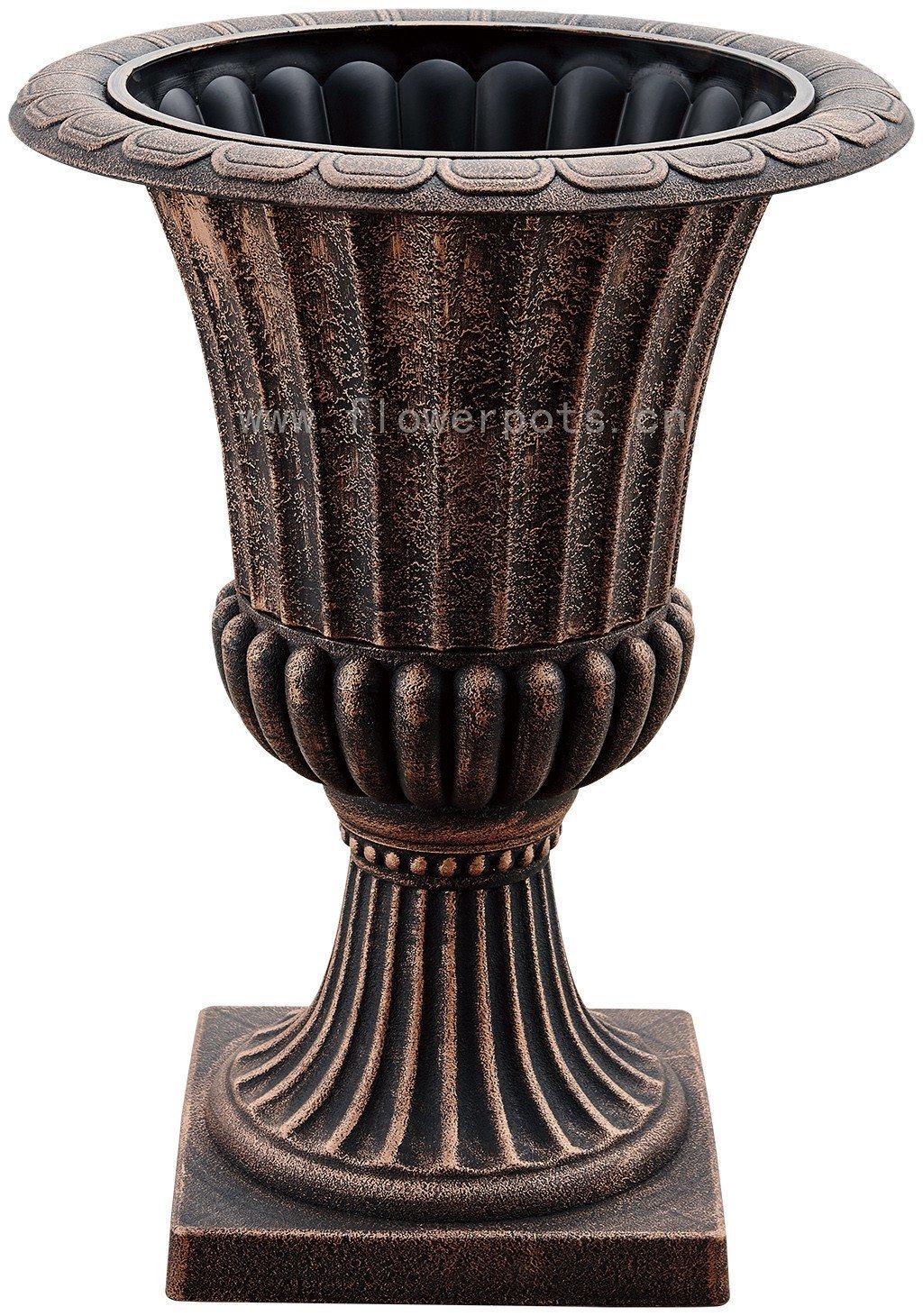 Urn Plastic Flower Pot (KD2961S-KD2962S)