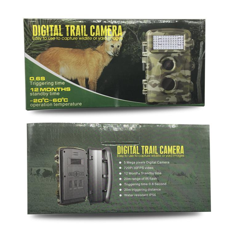 5.0MP Digital Trail Camera for Hunting