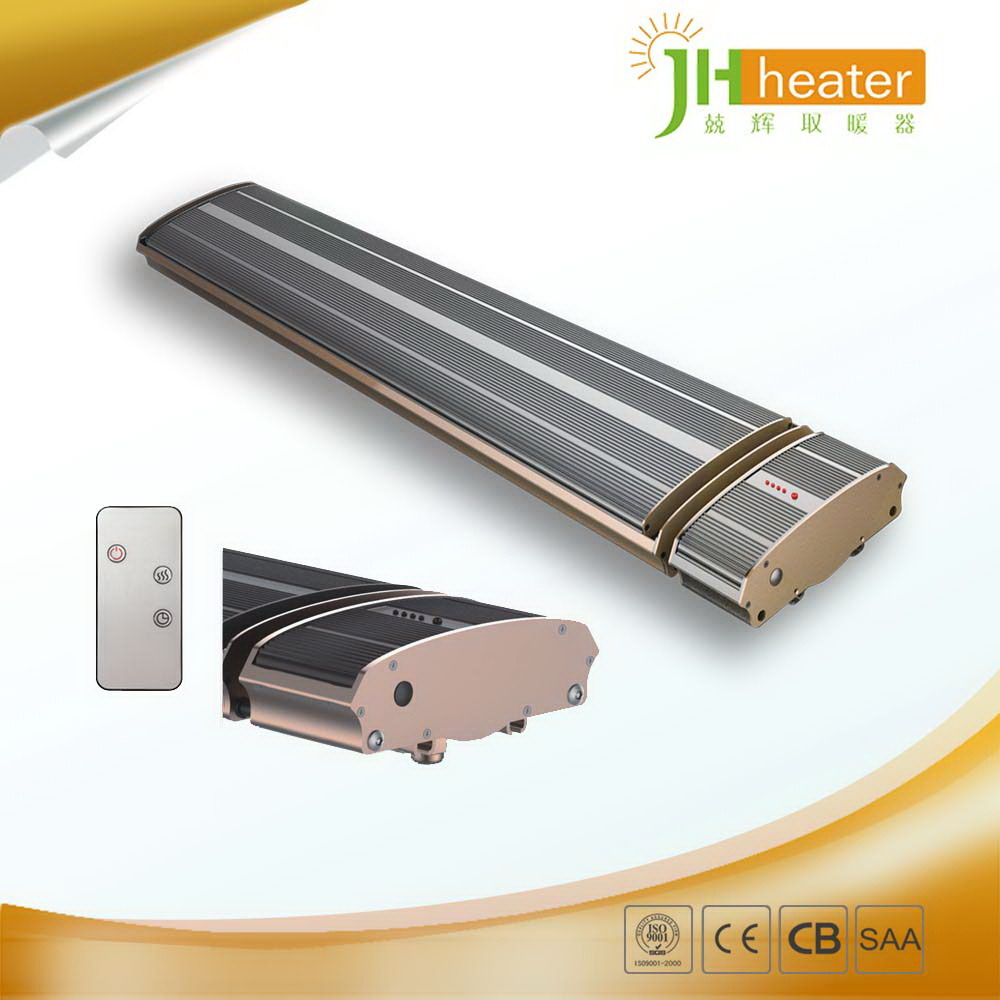 Electric Carbon Infrared Heaters Patio Heater for Yoga Room
