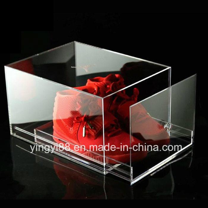 Clear Luxury Acrylic Sneaker Shoe Box