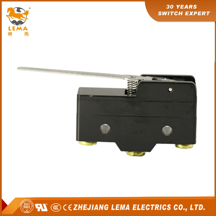 High Quality Lema Lz15-Gw-B Mechanical Hinge Lever Micro Switch