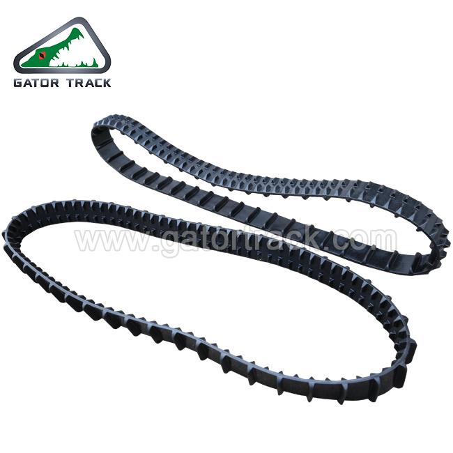 76*12.7*100 Lightweight Robot Rubber Track Best Quality Robot Rubber Track