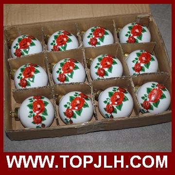 Sublimation Photo Transfer Printing Christmas Ball Ornament
