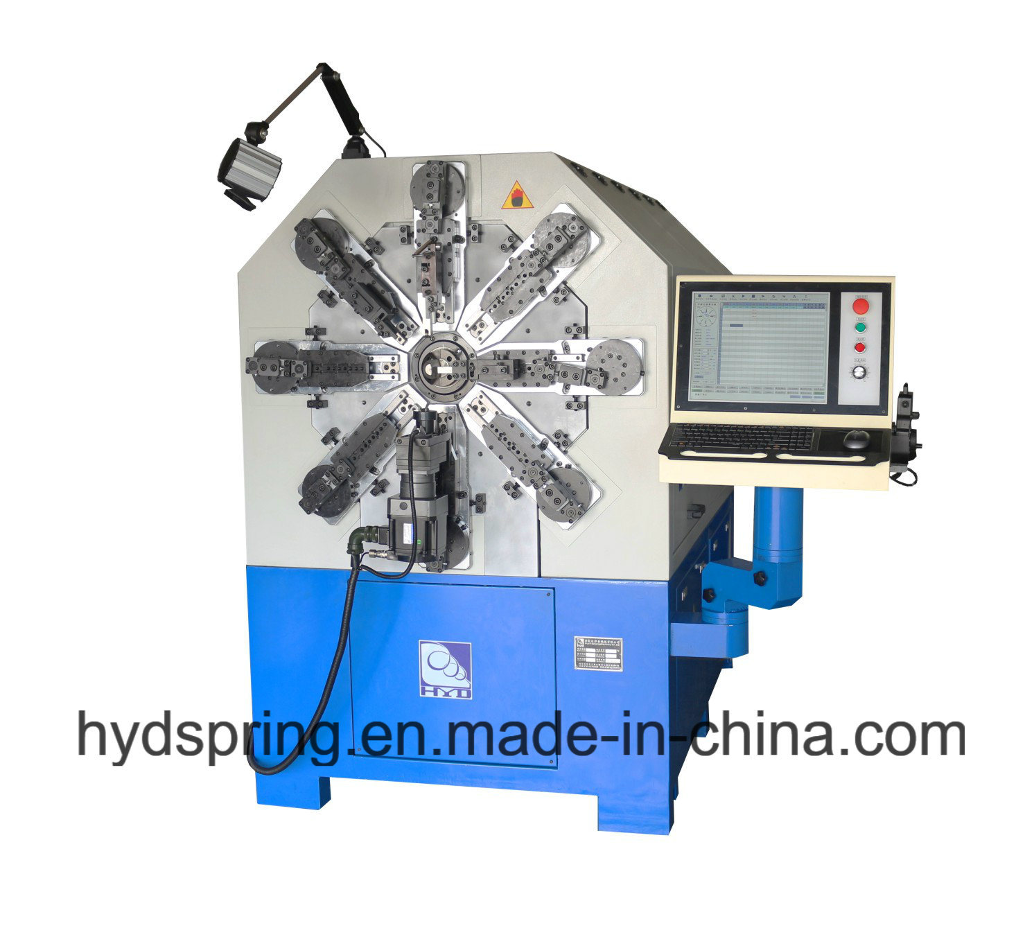 Hot Sale Twelve Axis CNC Spring Machine & Computer Spring Machine