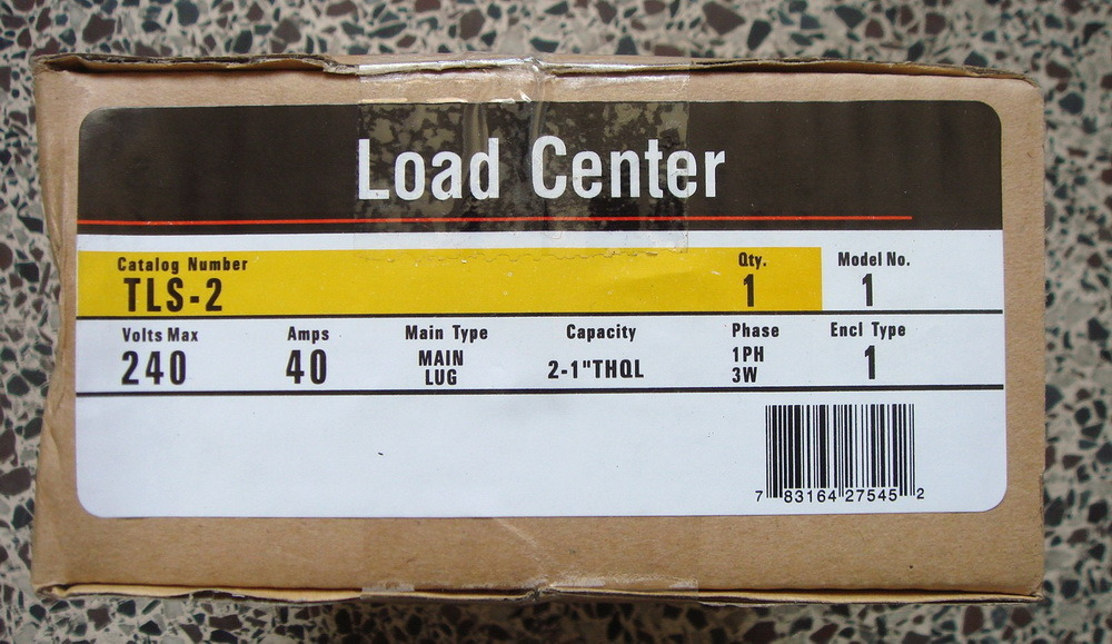 Gtls4-4way Plug in Load Center