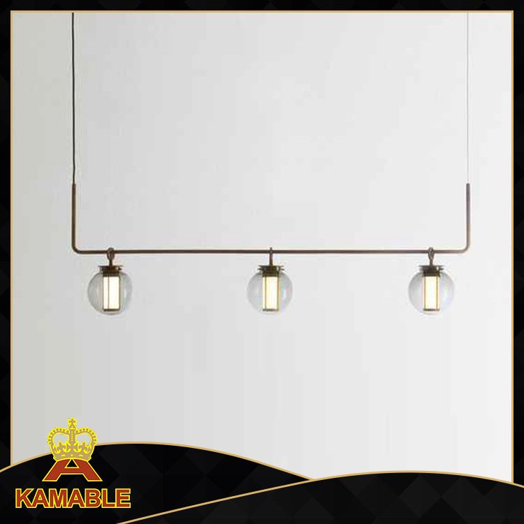 Wonderful Decorative Vintage Hanging Pendant Lamp Light for Returant (KAMD8112-3)
