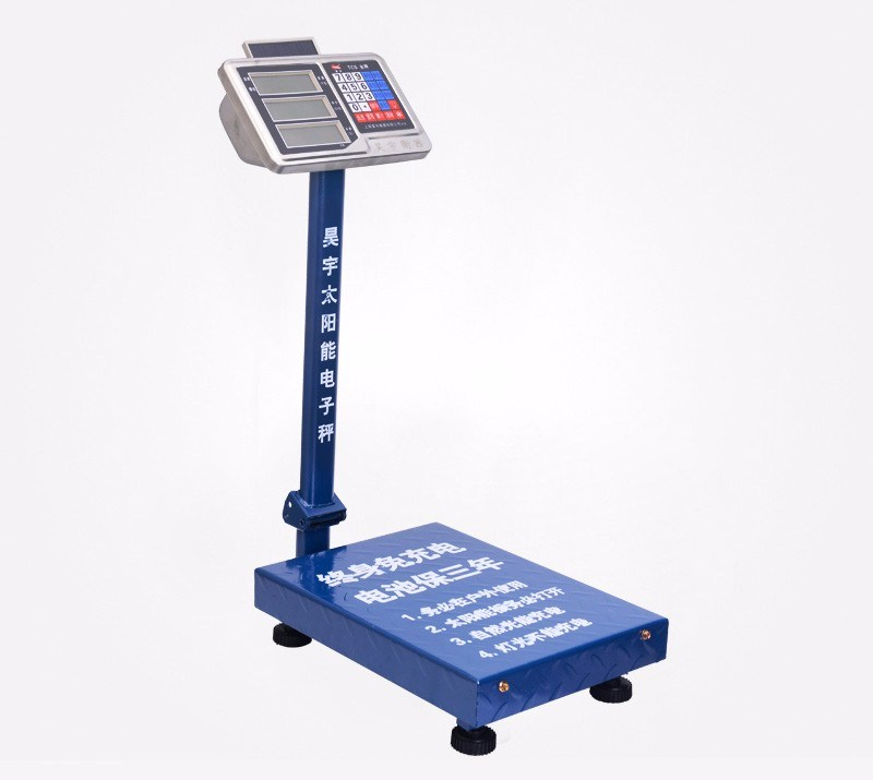 T12-T Stainless Steel Price Indicator Carbon Steel Frame Platform Scale