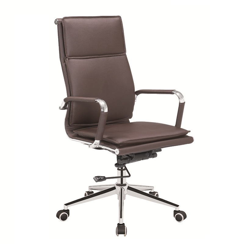 Steel Frame Chair/High Back Soft Padding Chair /Office Chair with Ergonomic Design
