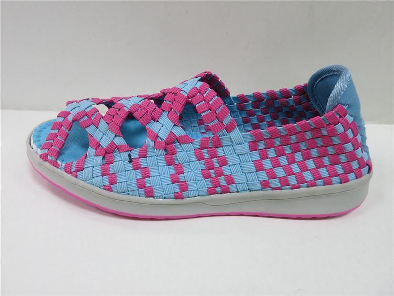 Man Women Colourful Woven Shoes
