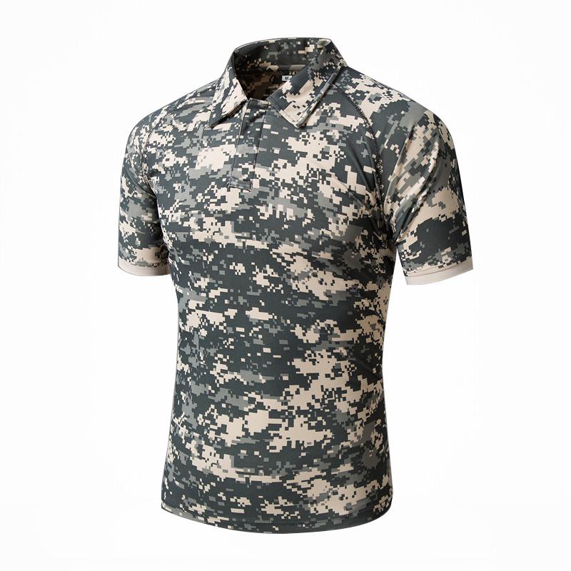 Summer Quick-Dry Sunscreen Tactical Combat T-Shirt