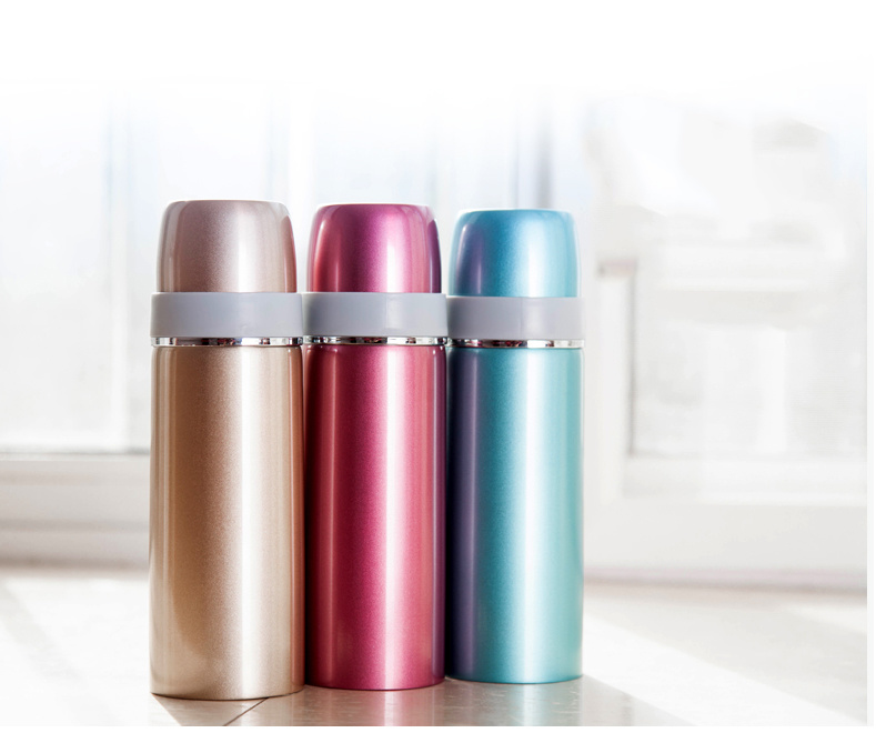 Double Wall Stainless Steel Thermos Vacuum Flask for Child