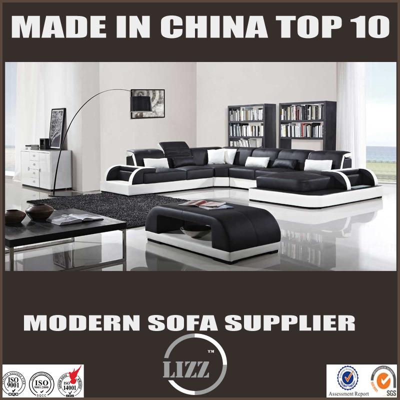 2017 Lizz Skinn Sofa Set for Living Room (LZ3313-1)