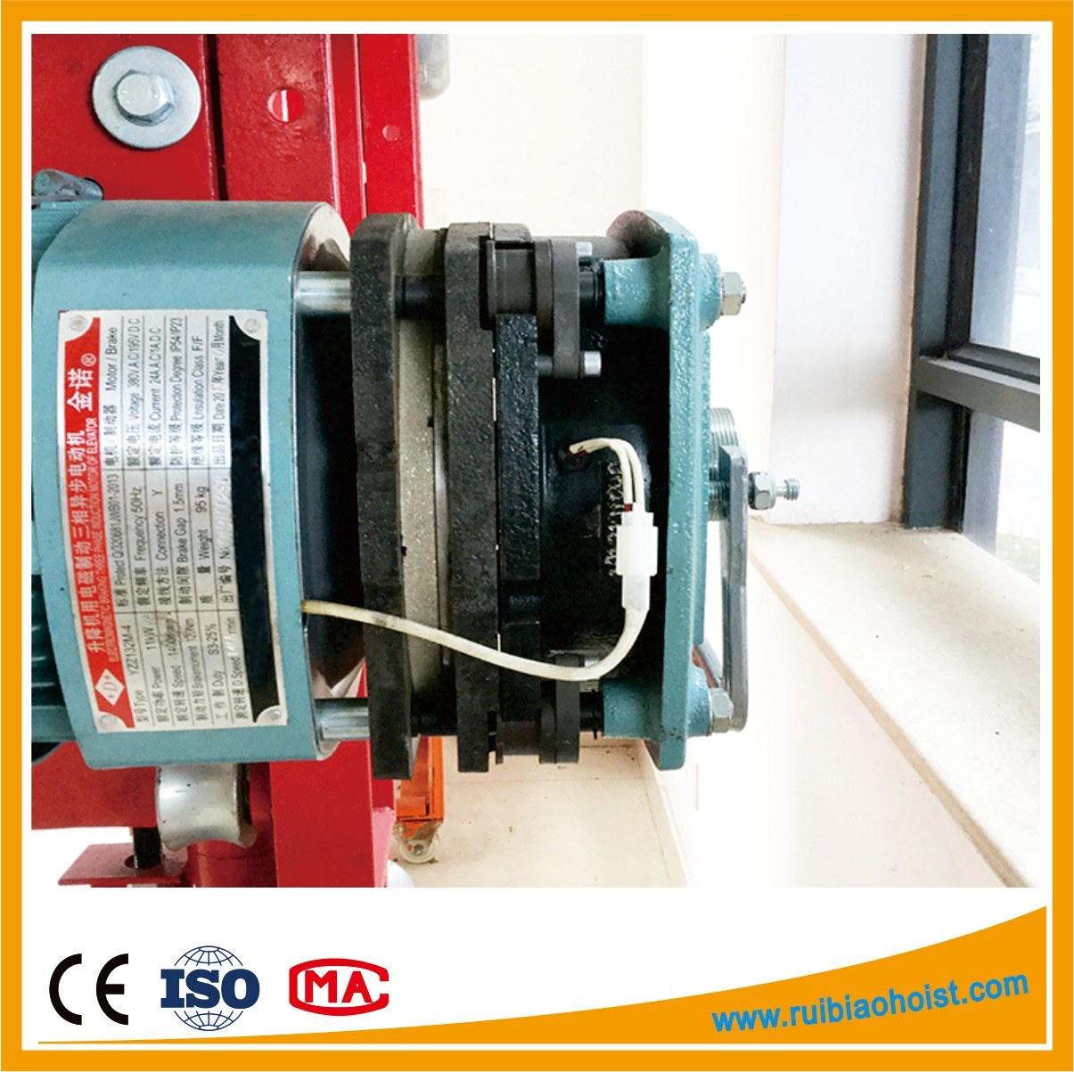 Gjj, Baoda Brand Passenger Hoist Motor for Lift Elevator Spare Parts, Material Hoist Motor, Construction Hoist Motor