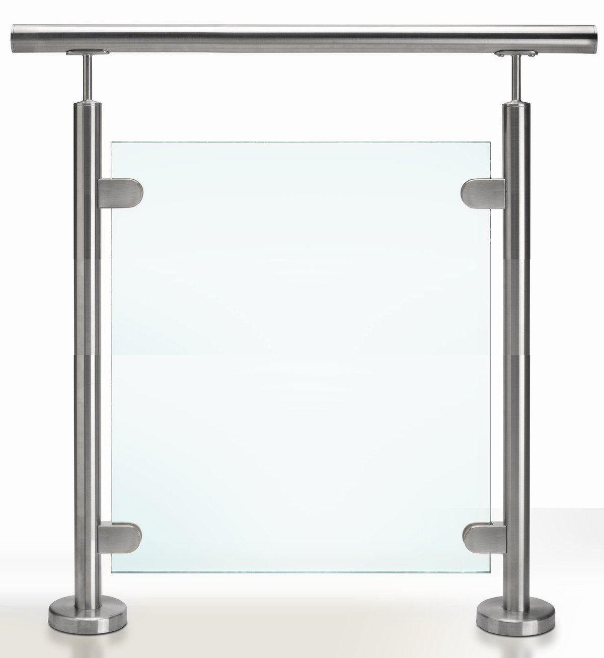 Balcony Temepred Glass Balustrade/Terrace Fence/Glass Railing