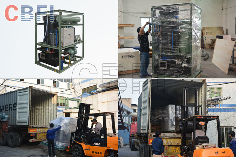Industrial 5 Tons Ice Tube Machine with High Quality