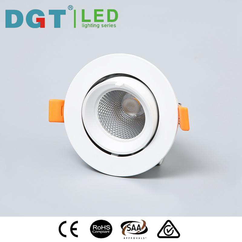 New Design 12W LED COB Adjustable Spotlight with Ce, SAA, RoHS