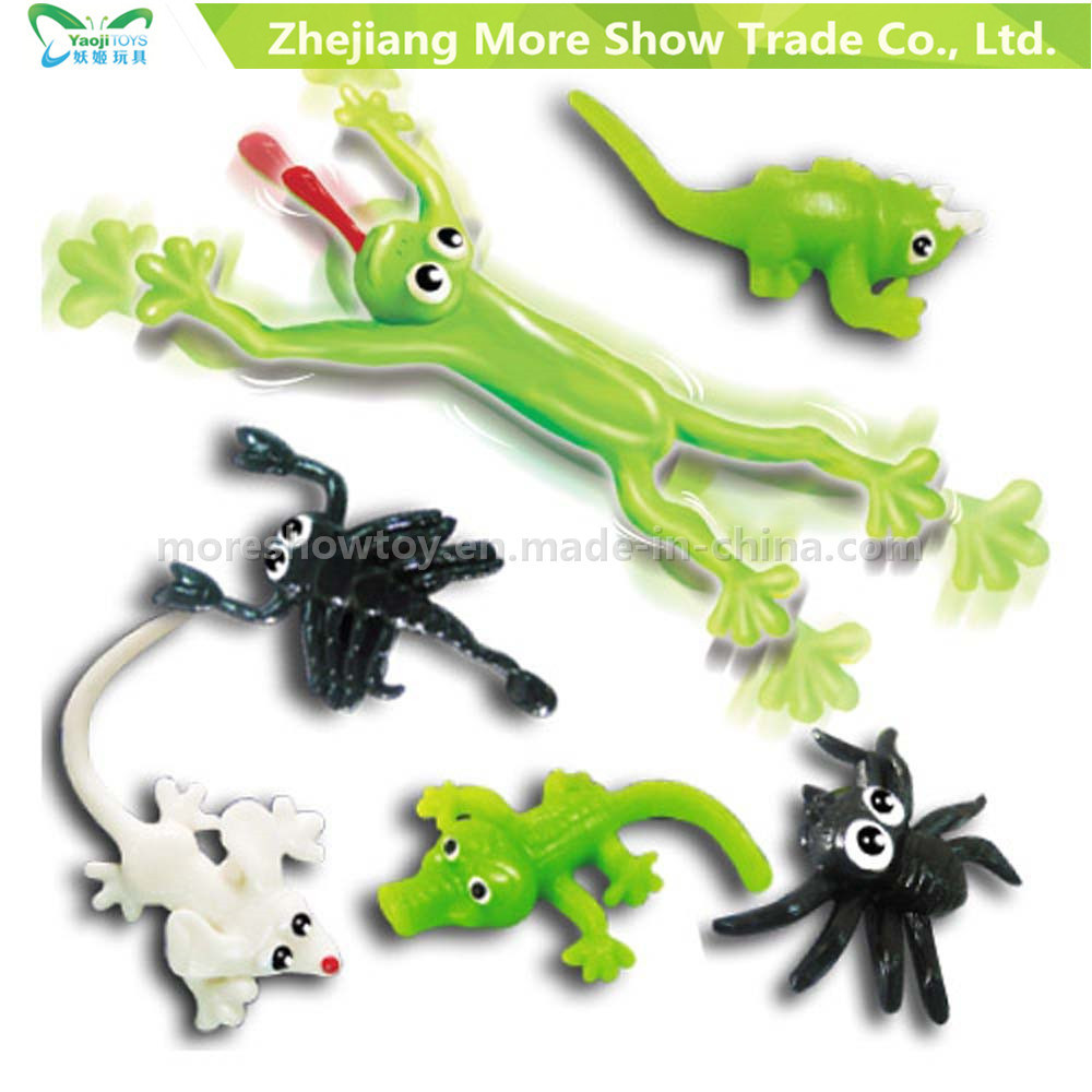 New Novelty TPR Sticky Animals Toys Kids Party Favors