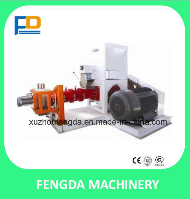 Single Screw Steam Extruder for Aquafeed and Livestock Feed--Feed Machine (EXT200S)
