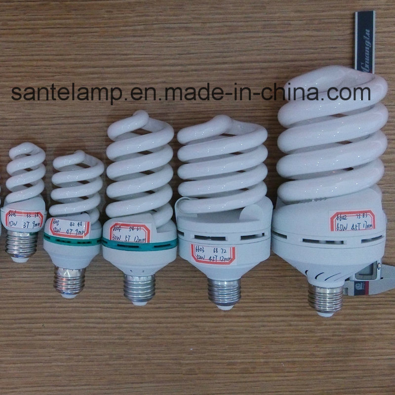Energy Saving Lamp 15W 18W Full Spiral Tri-Color E27/B22 220-240V
