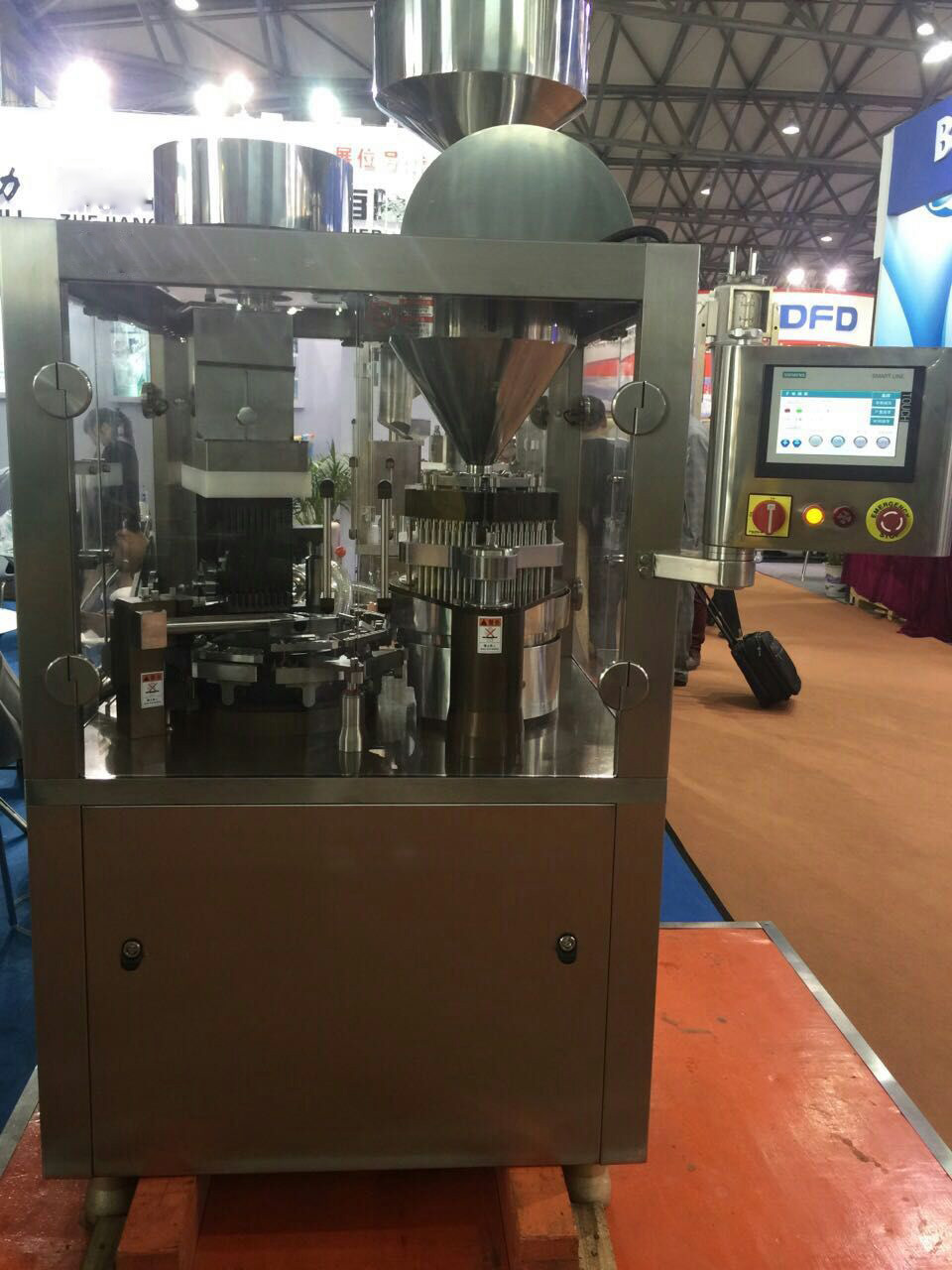User Friendly Operation Hard Capsule Filling Machine