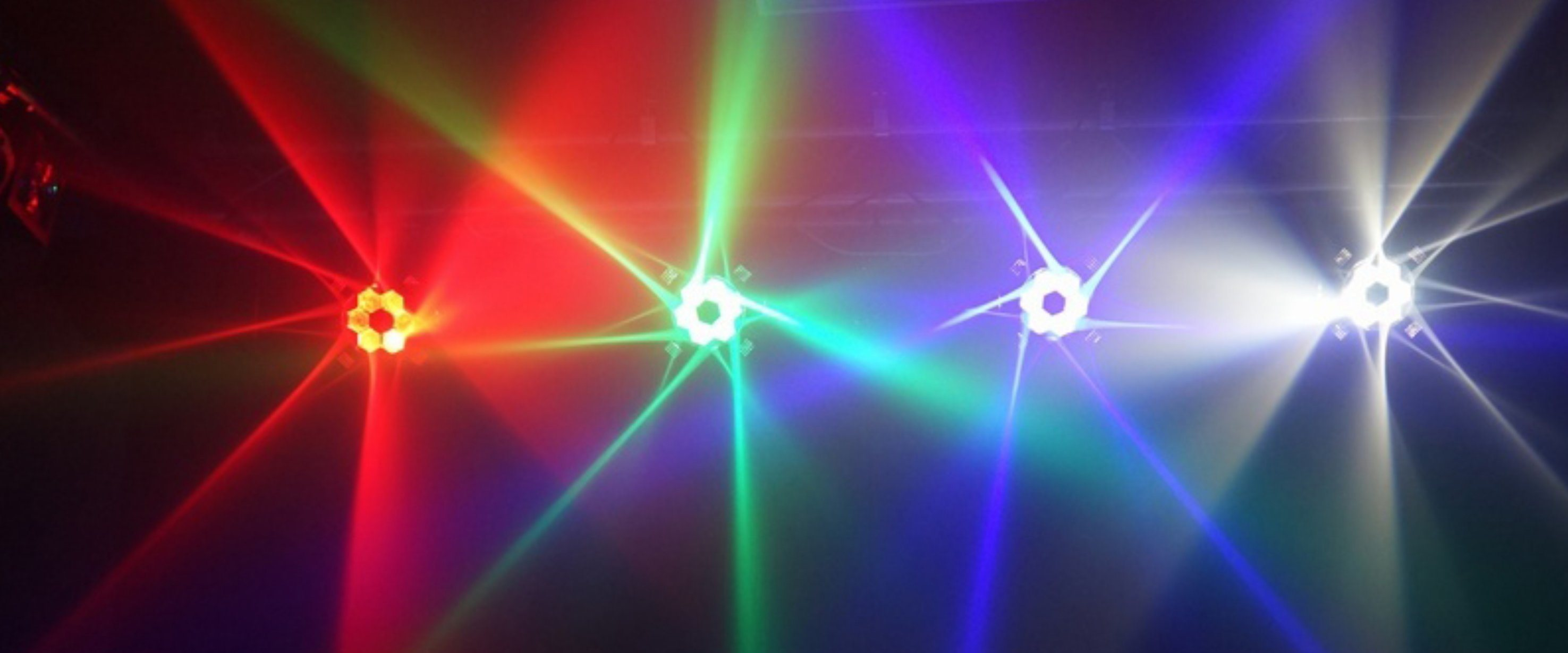 New Beam Effect 6X15W RGBW 4in1 Disco Light for Bars