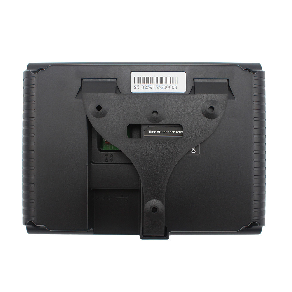 Self-Service Fingerprint & ID Card Time Attendance with Simple Access Contorl Function