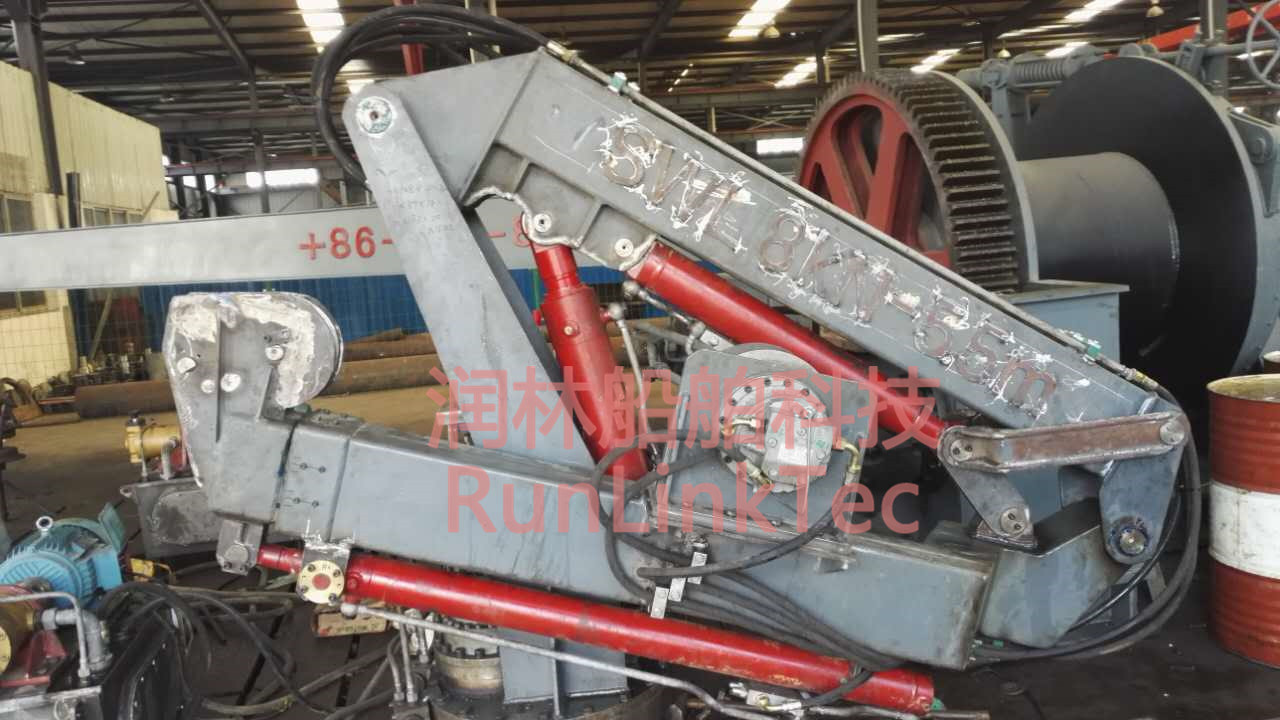 Hydraulic Telescopic and Knuckle Crane/Marine Crane/Hydraulic Crane/Crane