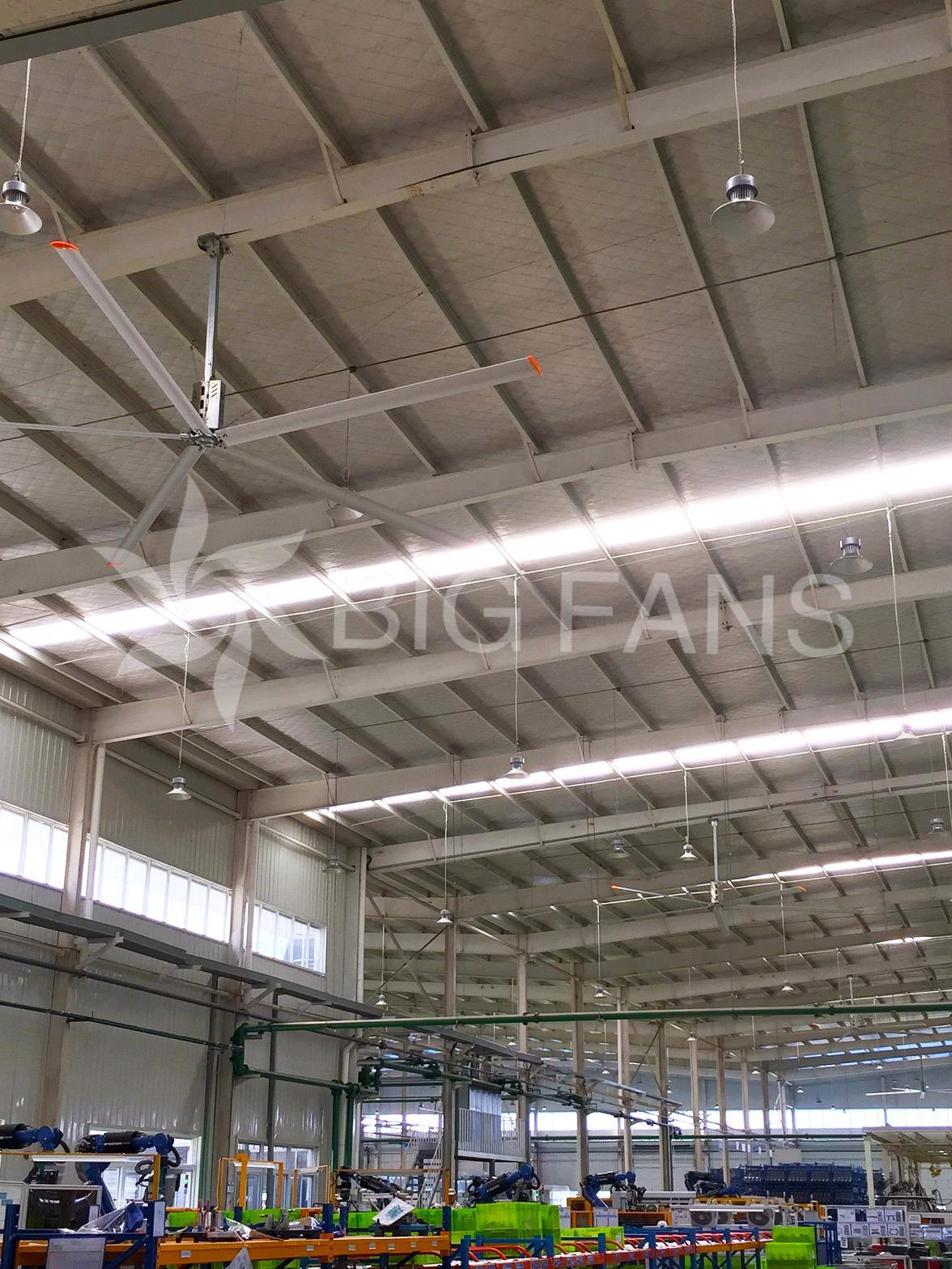 China Manufacturer High Quality Cheap Industrial Ceiling Fan 6.2m (20.4FT)