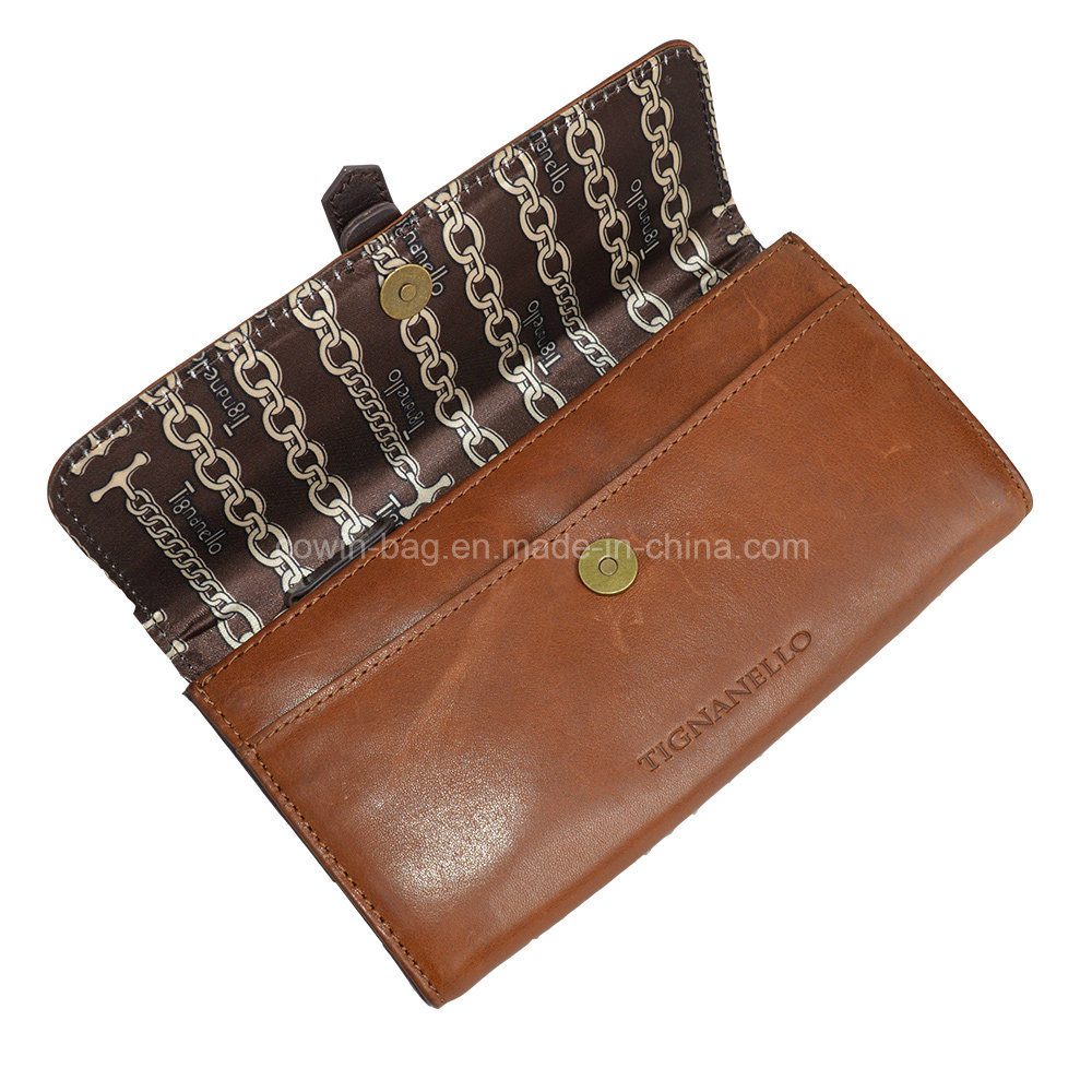 Cow Split Leather Made Wallet/ clutch