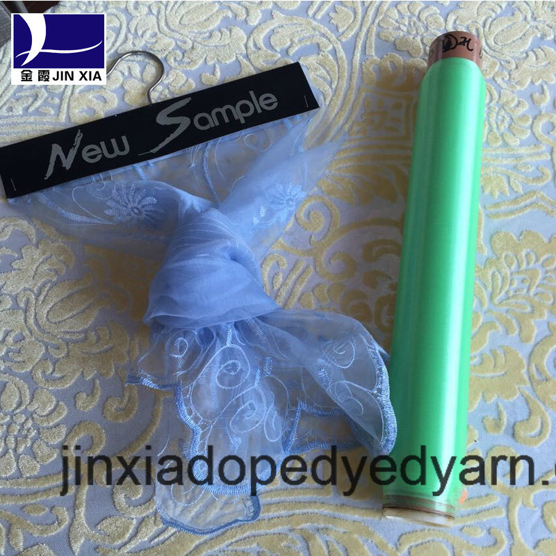 Dope Dyed Polyester Yarn Monofilament 45D/2f