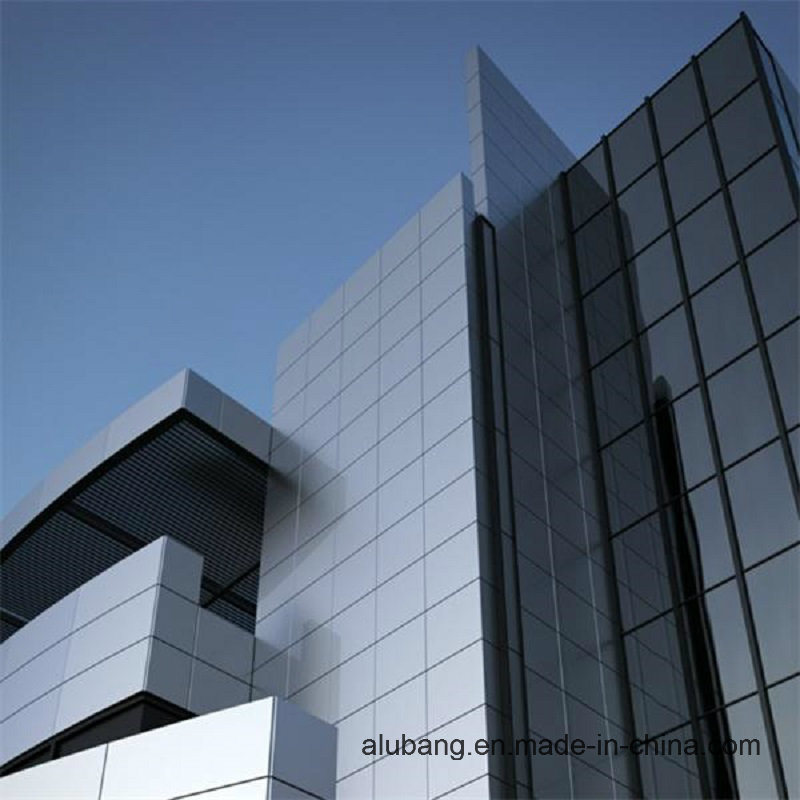 Outdoor Wall Cladding PVDF Aluminum Composite Panel (1220*2440*4mm) (ALB-008)