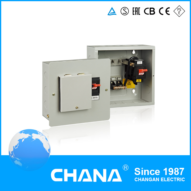Surface or Flush Mountd 1 Phase Distribution Box with Main Switch