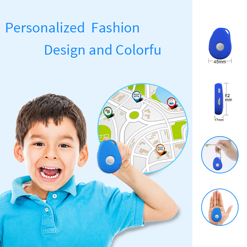 American 3G WCDMA Personal GPS Tracker Integrated with 3D G-Sensor and Alarm When Falling/Motion/Shock for Kids GSM GPS Tracker