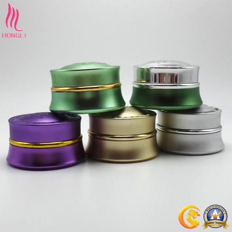 Anodized Aluminum Cosmetic Cream Empty Jar