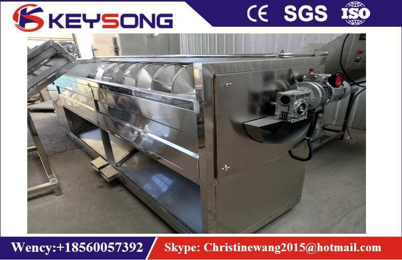 Full Automatic Potato Chips Washing and Peeling Machine