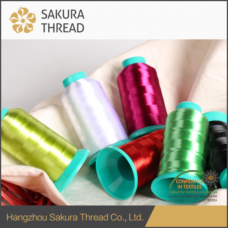 300d/2 Viscose/Rayon Embroidery Yarn with Oeko-Tex100 1 Class