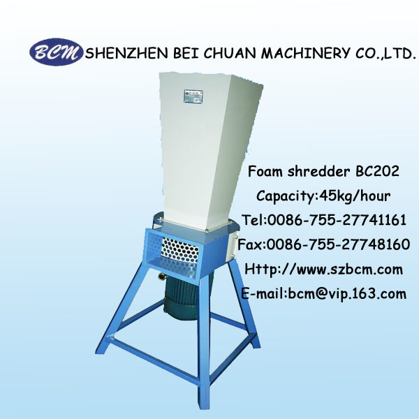 Foam Sponge Shredder Bc202