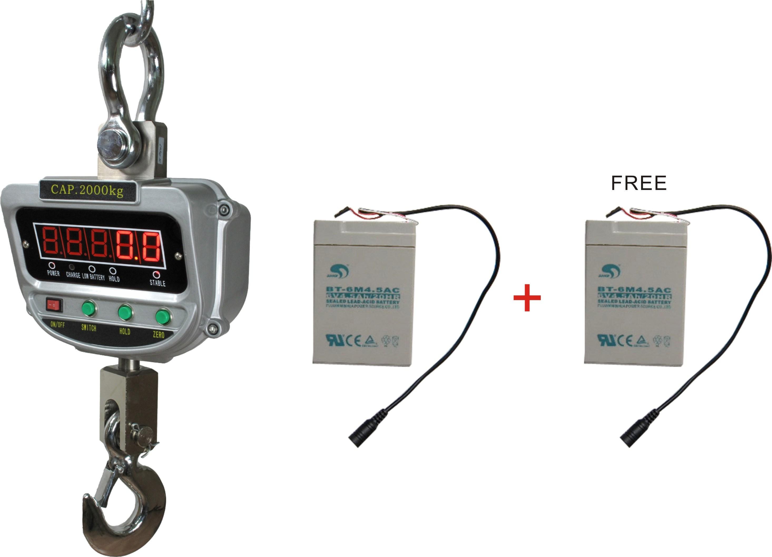 CE Certificated Digital Crane Scale Xz-Aae 15t