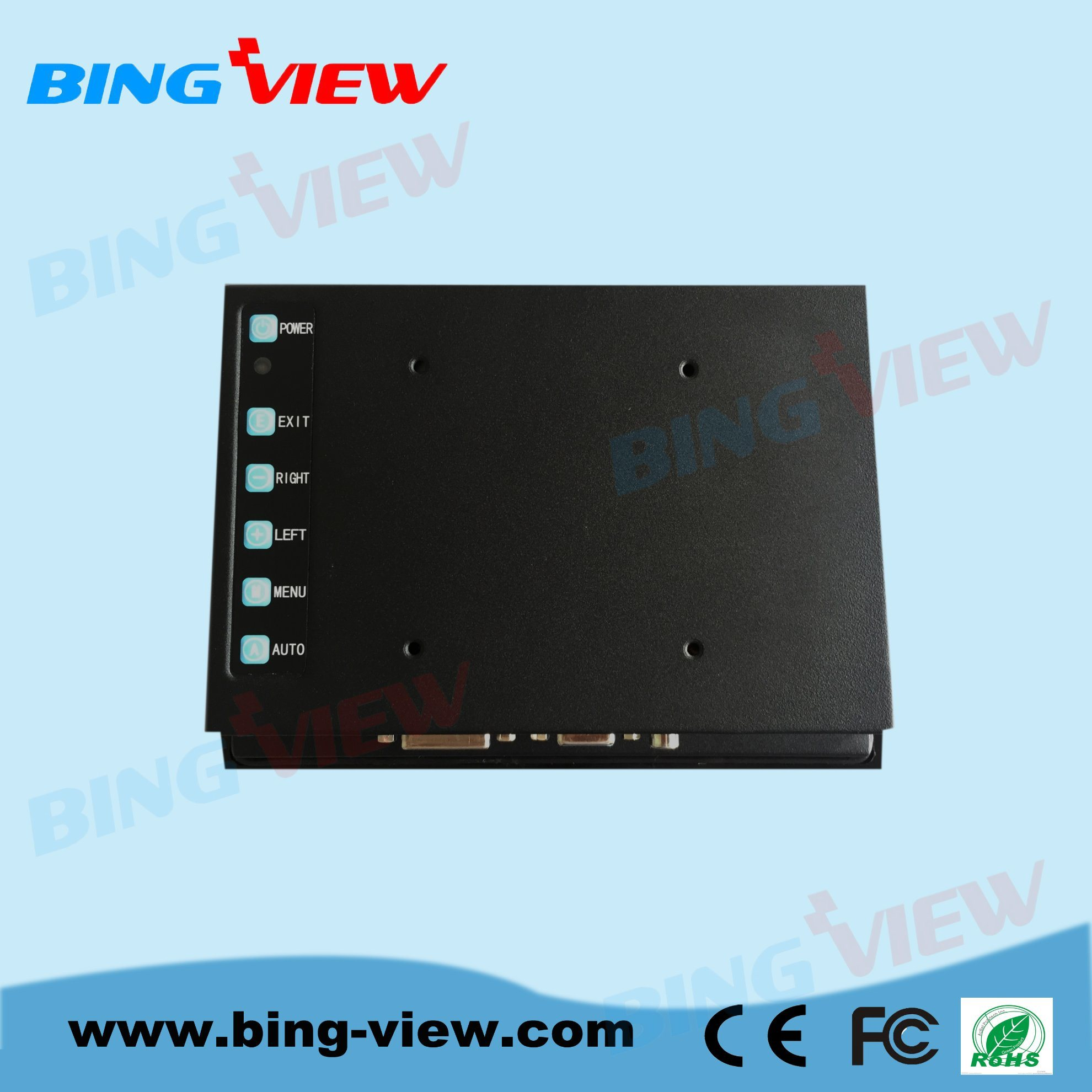 """12.1 """"10 Points Touch Screen Display with Pcap Technology for Industrial Automation Monitor"""