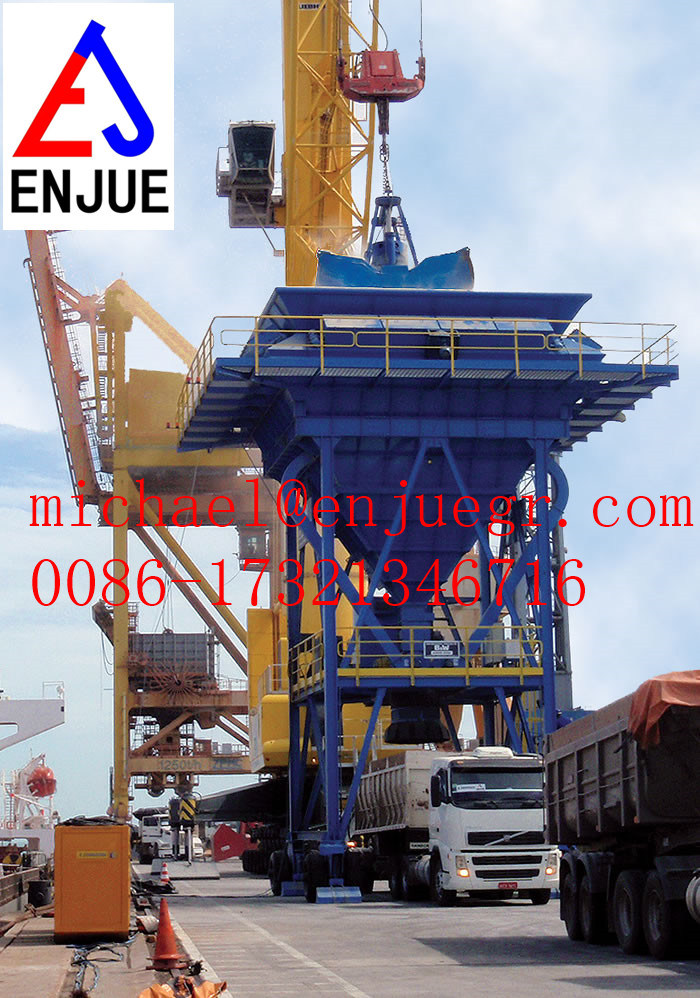 Mobile Dusting Hopper for Discharge Cargo Eco Dust Collecting Hopper