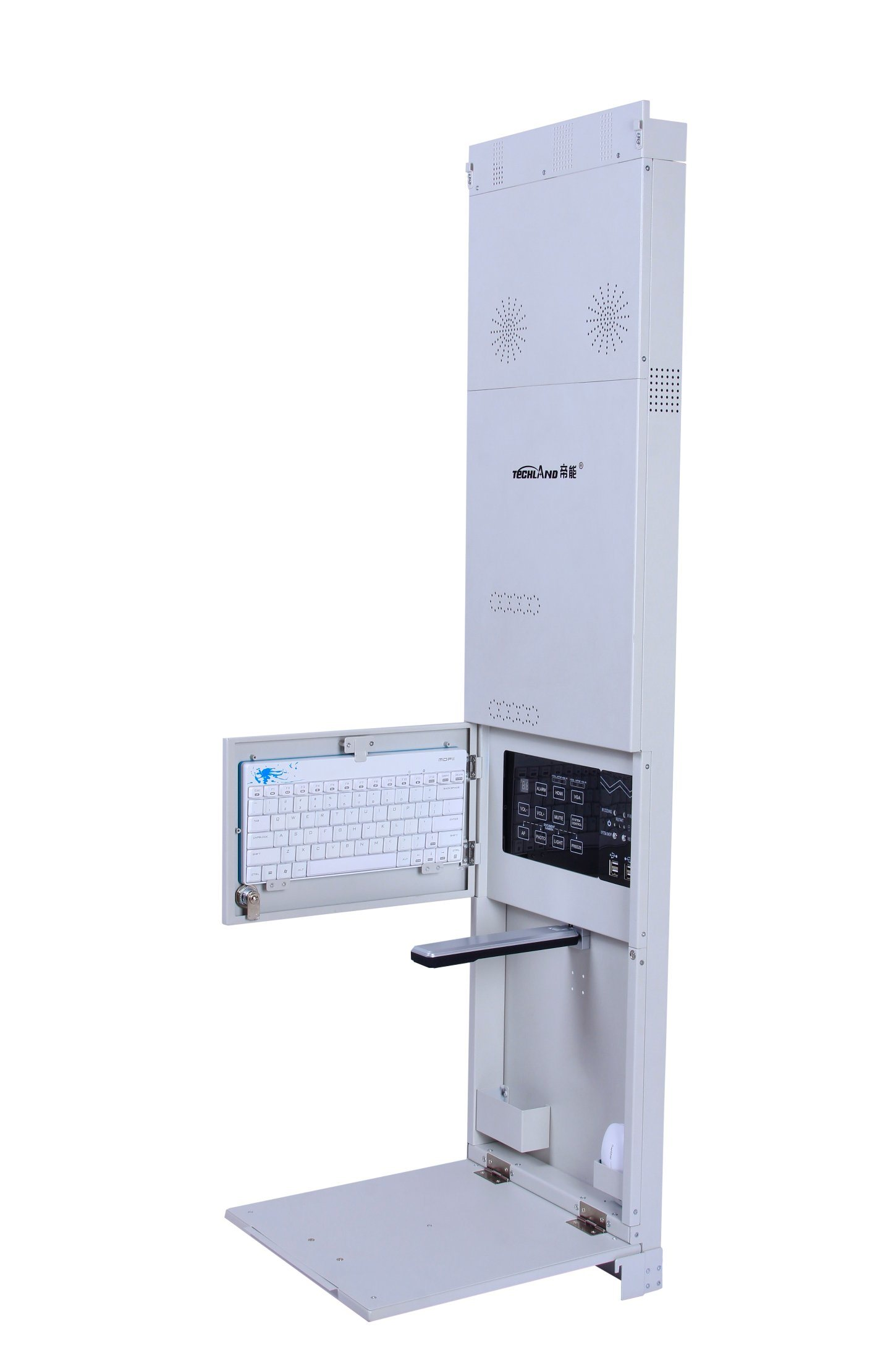 Wall-Mounted Multi-Media All-in-One PC for Interactive Whiteboard
